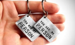 31 Matching Couples Keychains for Him and Her