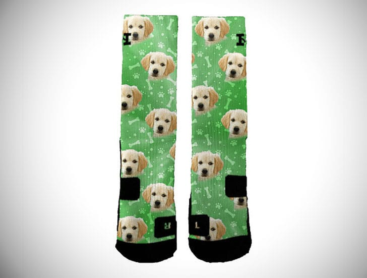 Customised Dog Socks