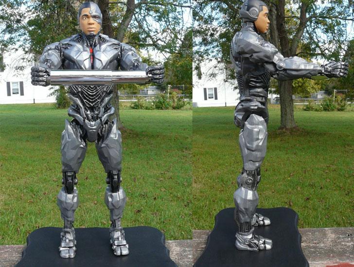 Cyborg Toilet Paper Holder