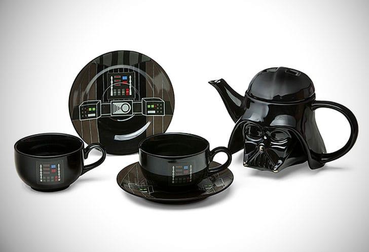 Darth Vader Teapot Set