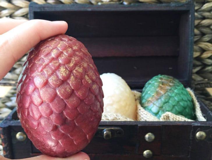 Dragon's Egg Soap Set
