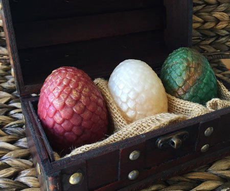 Dragon's Egg Soap Set