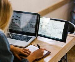 Dual Screen Laptop Monitor