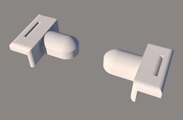 Easy-On Toilet Paper Holder