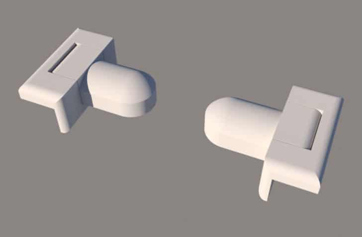 Easy-On Toilet Paper Holder