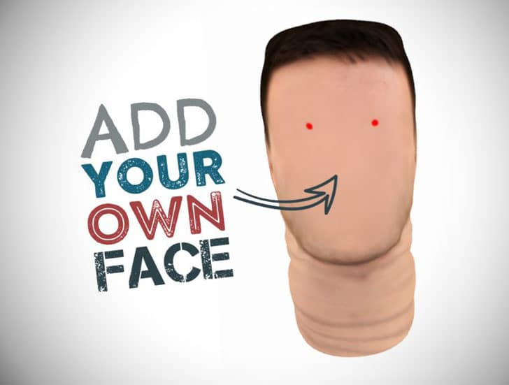 FaceSkinz Customizable Face Masks