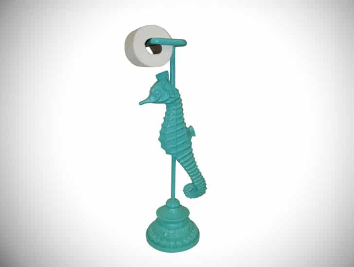Free Standing Seahorse Toilet Paper Holder