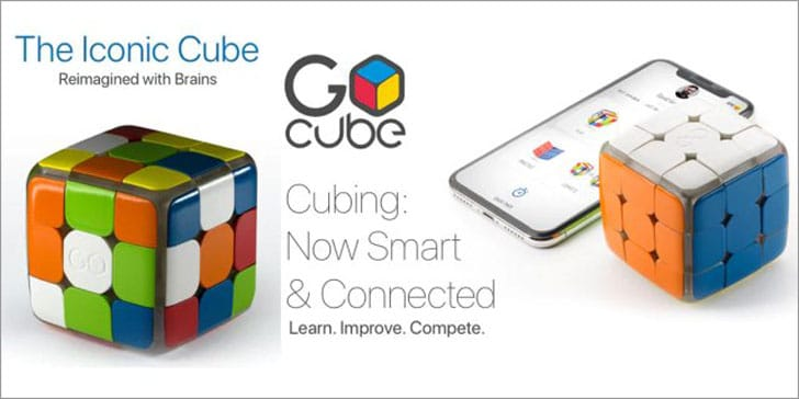 GoCube: Smart Connected Puzzle Cube