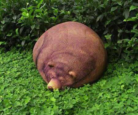 Grizzly Bear Bean Bag