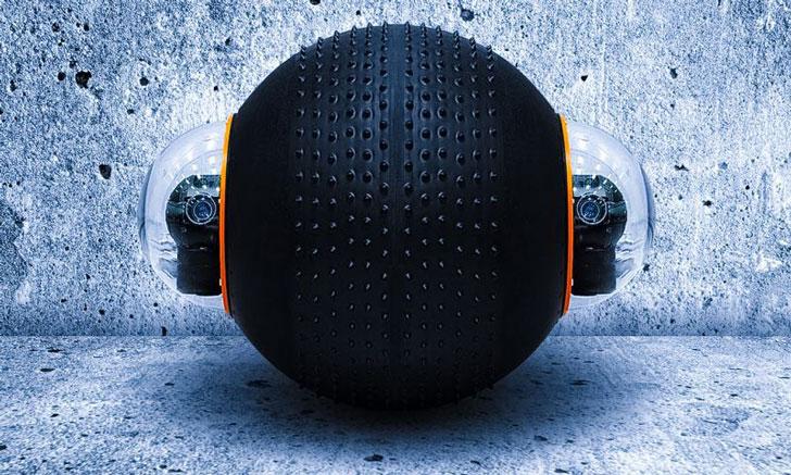 GuardBot All-Terrain Amphibious Surveillance Robot