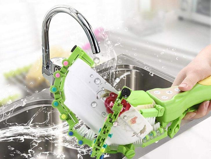 Handheld Automatic Spinning Dishwasher