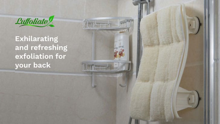 Hands-Free Shower Back Scrubber