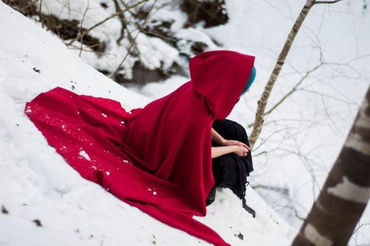Hooded Fantasy Cloak