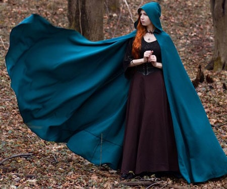 Hooded Fantasy Cloak