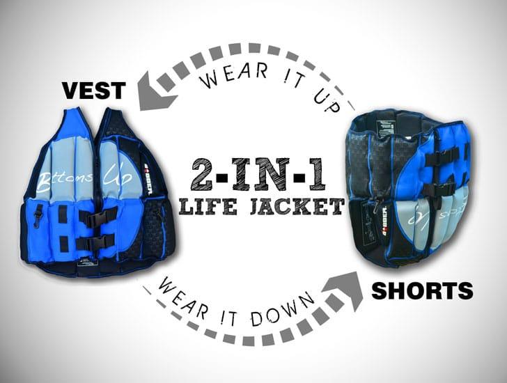 Human Bobber Bottoms Up Life Jacket - Awesome Stuff 365