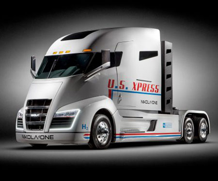 Hydrogen Powered Sleeper Semi-Truck