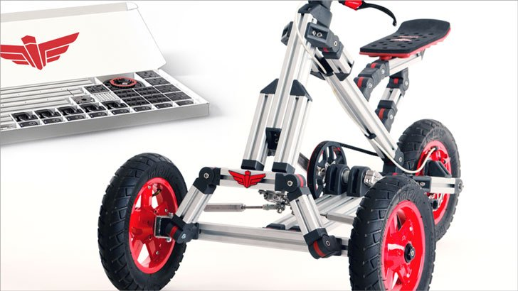 Infento: Modular Life-Size Bike Kits
