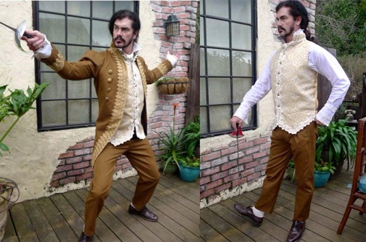 Ivory Lace Steampunk Rogue's Waistcoat