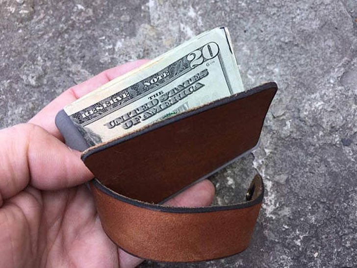 Kodiak Minimalist Leather Wallet