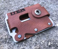 Kodiak Minimalist Leather Wallet