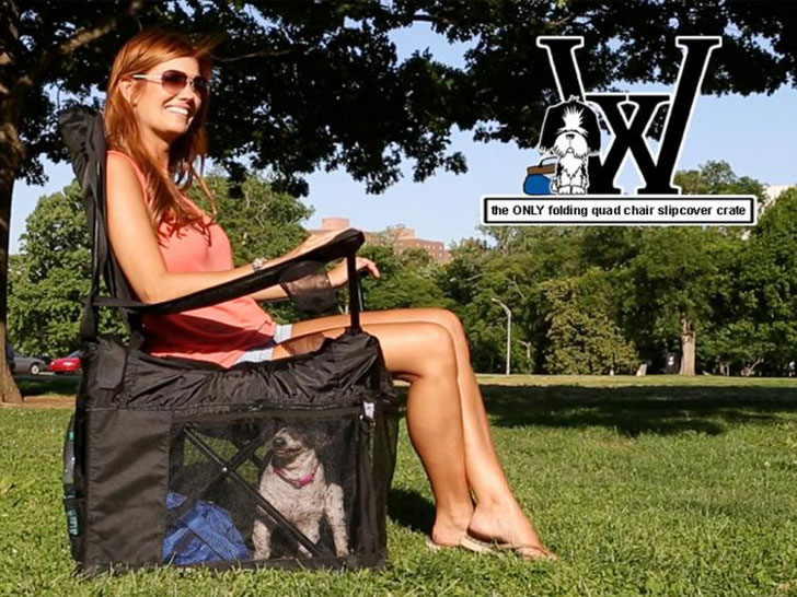 Lawn Chair Pet Crate