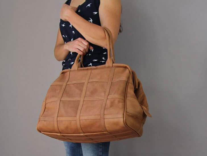 Leather Duffle Doctor Bag