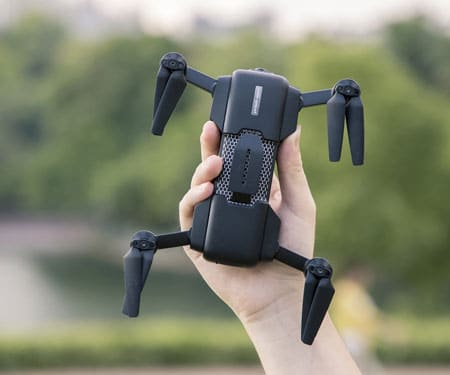 Mark Drone: Ultra-Intelligent Foldable Drone