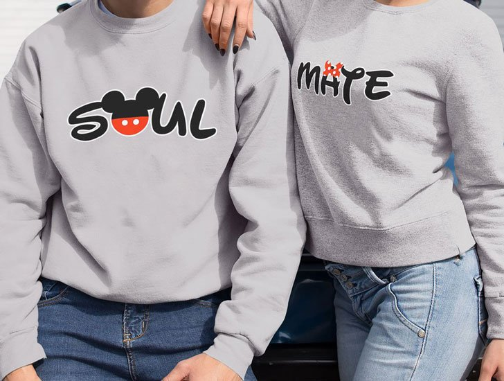 Soul Mate Disney Couples Sweaters
