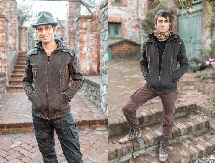 Men's Organic Cotton Sigil Motorcycle Burner Jacket