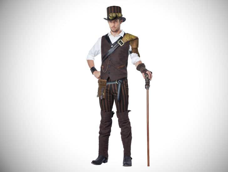 Mens Steampunk Adventurer Outfit