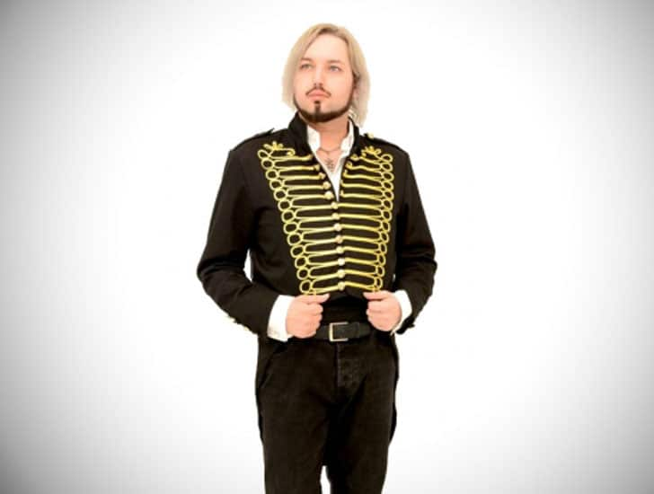 Mens Steampunk Military Tailcoat