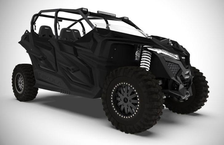 Military Grade Electric Tactical ATV