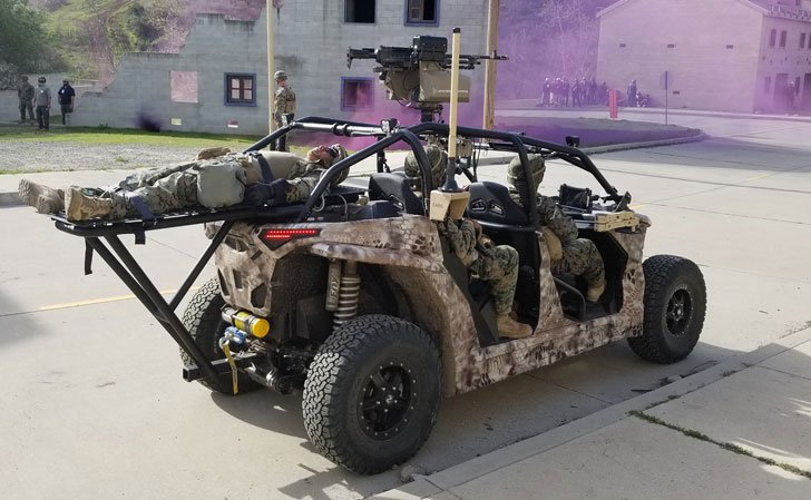 Military Grade Electric Tactical ATV