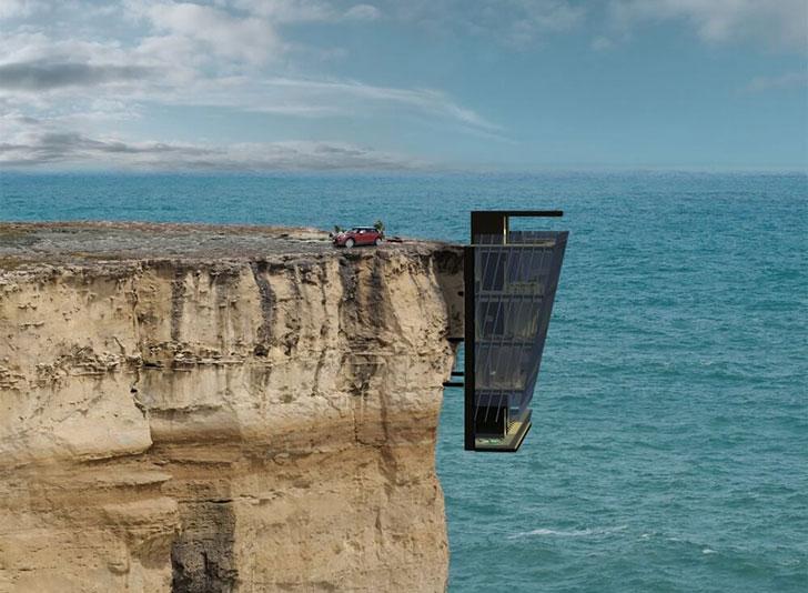 Modscape Cliffside House