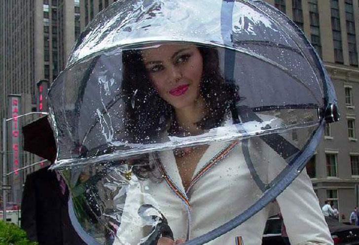 Nubrella Hands-Free Umbrellas