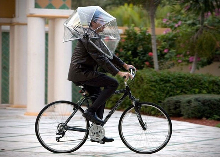Nubrella Hands-Free Umbrellas