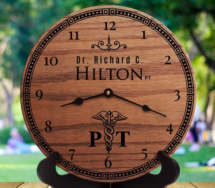 Personalised Doctor Clock