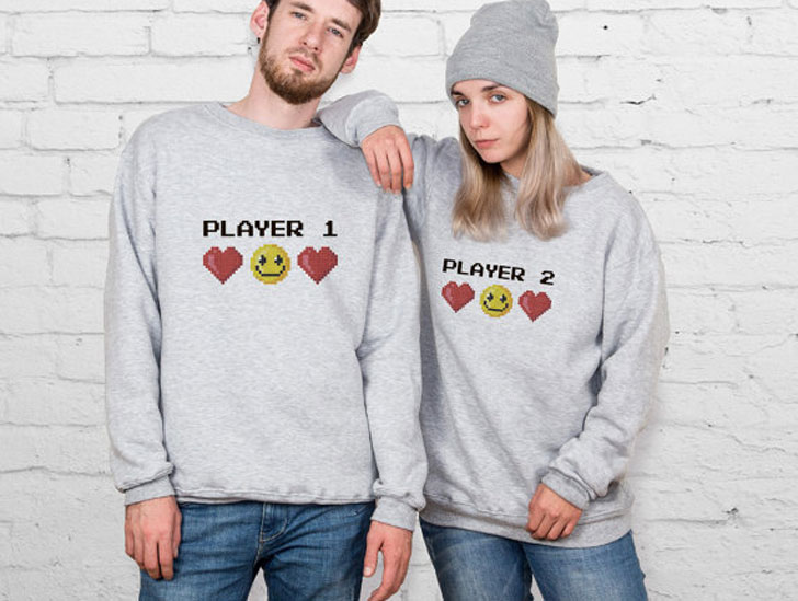 Player 1 - Player 2 His & Hers Sweaters