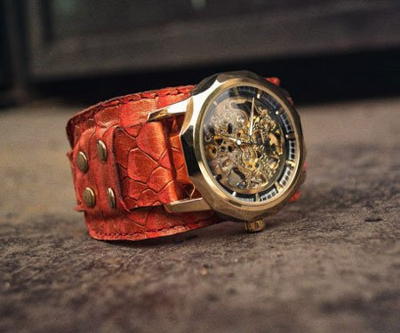 Steampunk Dragon Watch