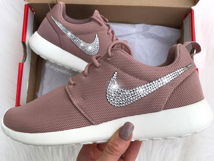 Swarovski Nike Roshe One Shoes