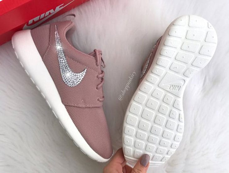 Swarovski Nike Roshe One Shoes