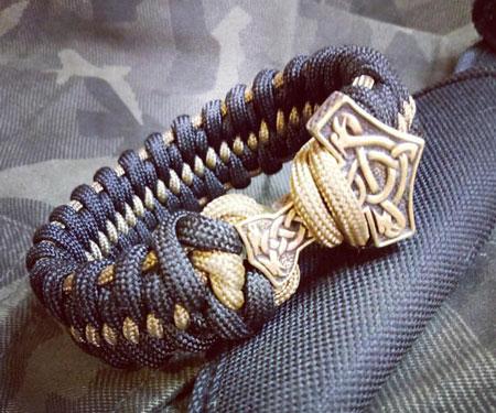 Thor's Hammer Survival Bracelet