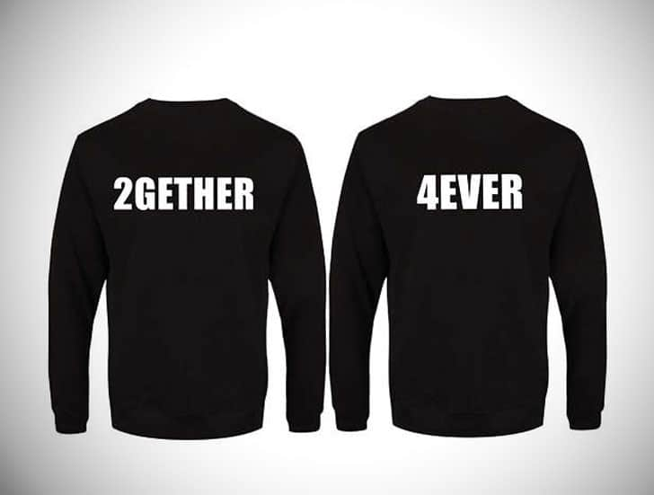 Together Forever Couple Sweatshirts