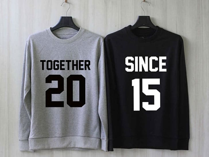 Together Since Couple Sweaters