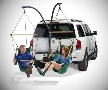 Trailer Hitch Hammock Chairs
