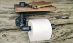 40+ Cool, Fun & Unique Toilet Paper Holders For Any Bathroom