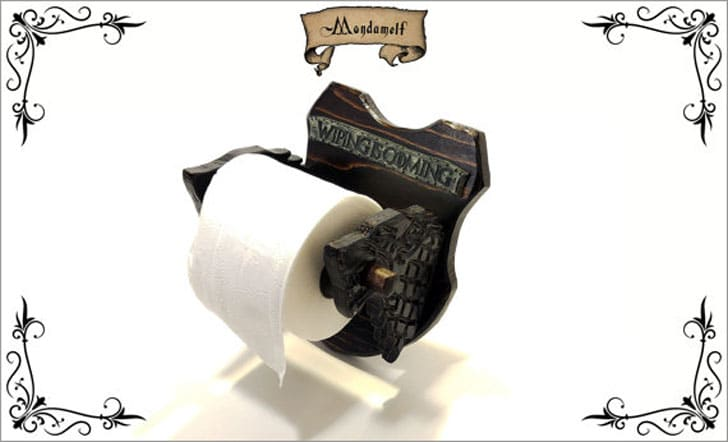 Wiping is Coming - Wooden Toilet Paper