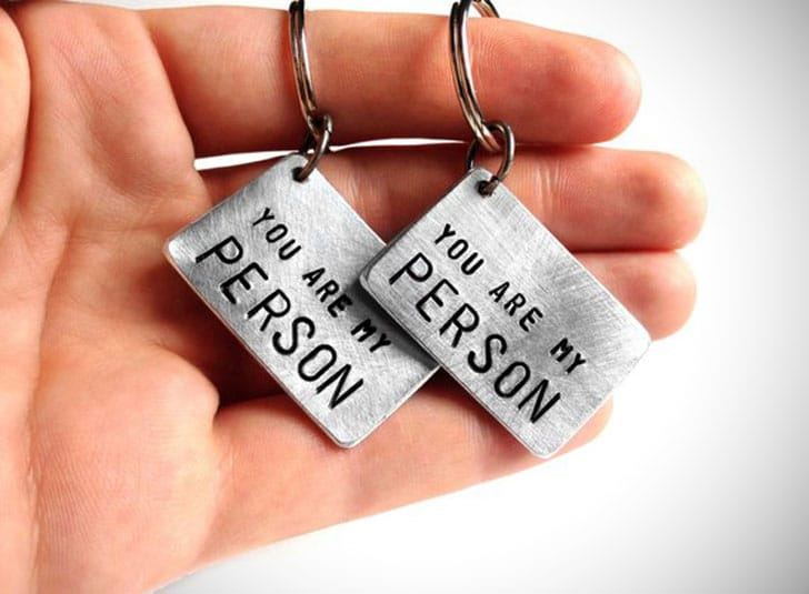 You Are My Person Keychain for Couples