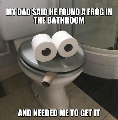 funny toilet paper meme