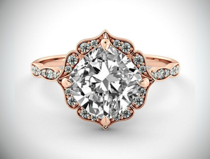1 Carat GIA Diamond Engagement Ring